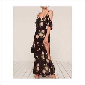 REFORMATION Ferrara Dress Venus Print sz 2